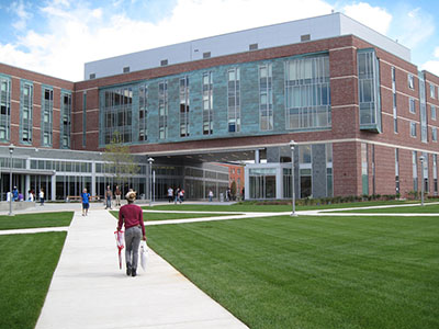 Marsh Hall, one of Salem State's beautiful new residences