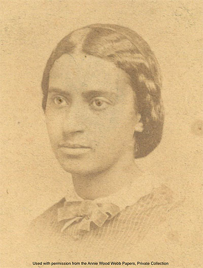Image of Charlotte Forten during her adolescent years
