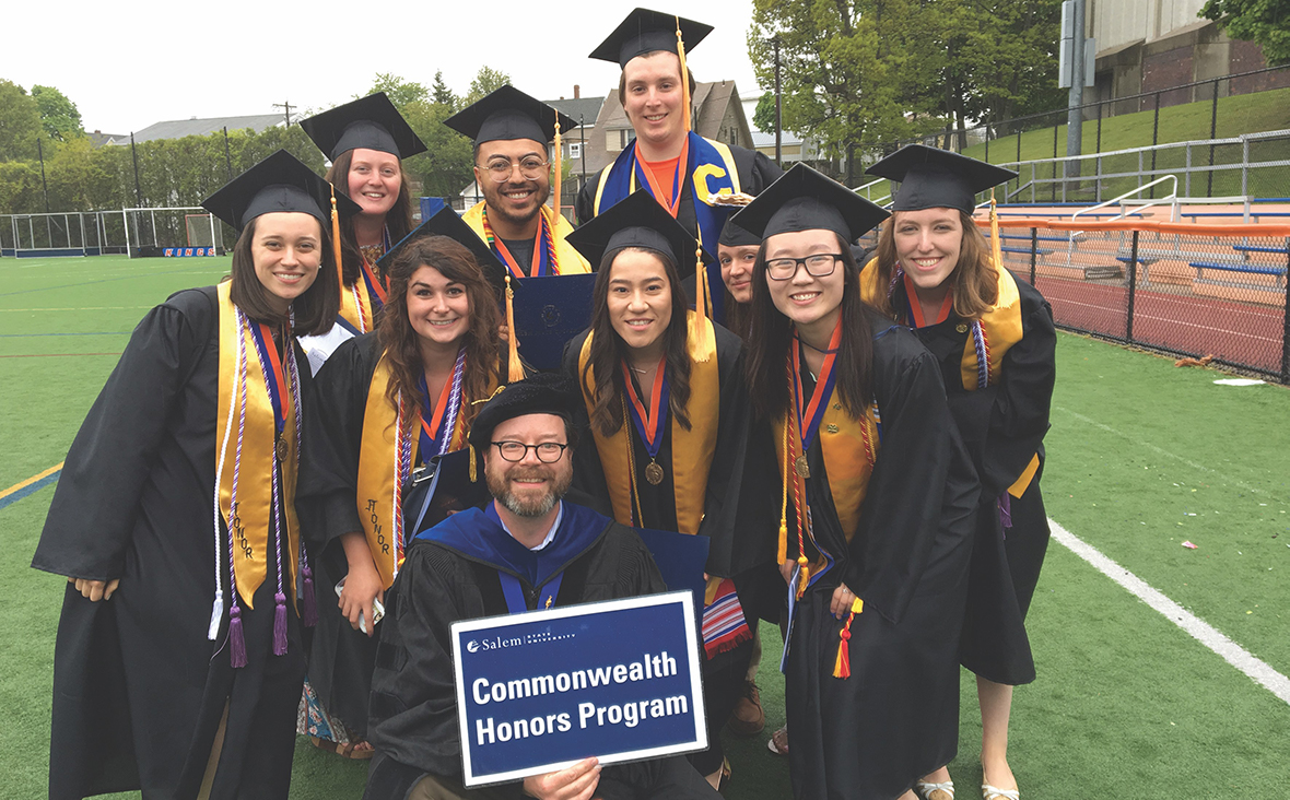 Honors program 2019 graduates