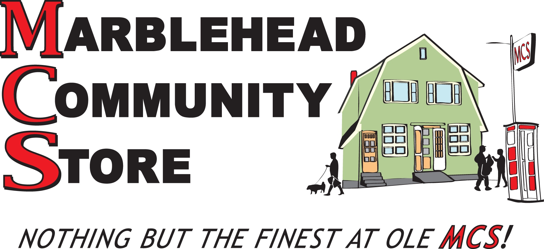 Marblehead Community Store Logo