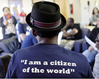 """I am a citizen of the world"" tshirt"