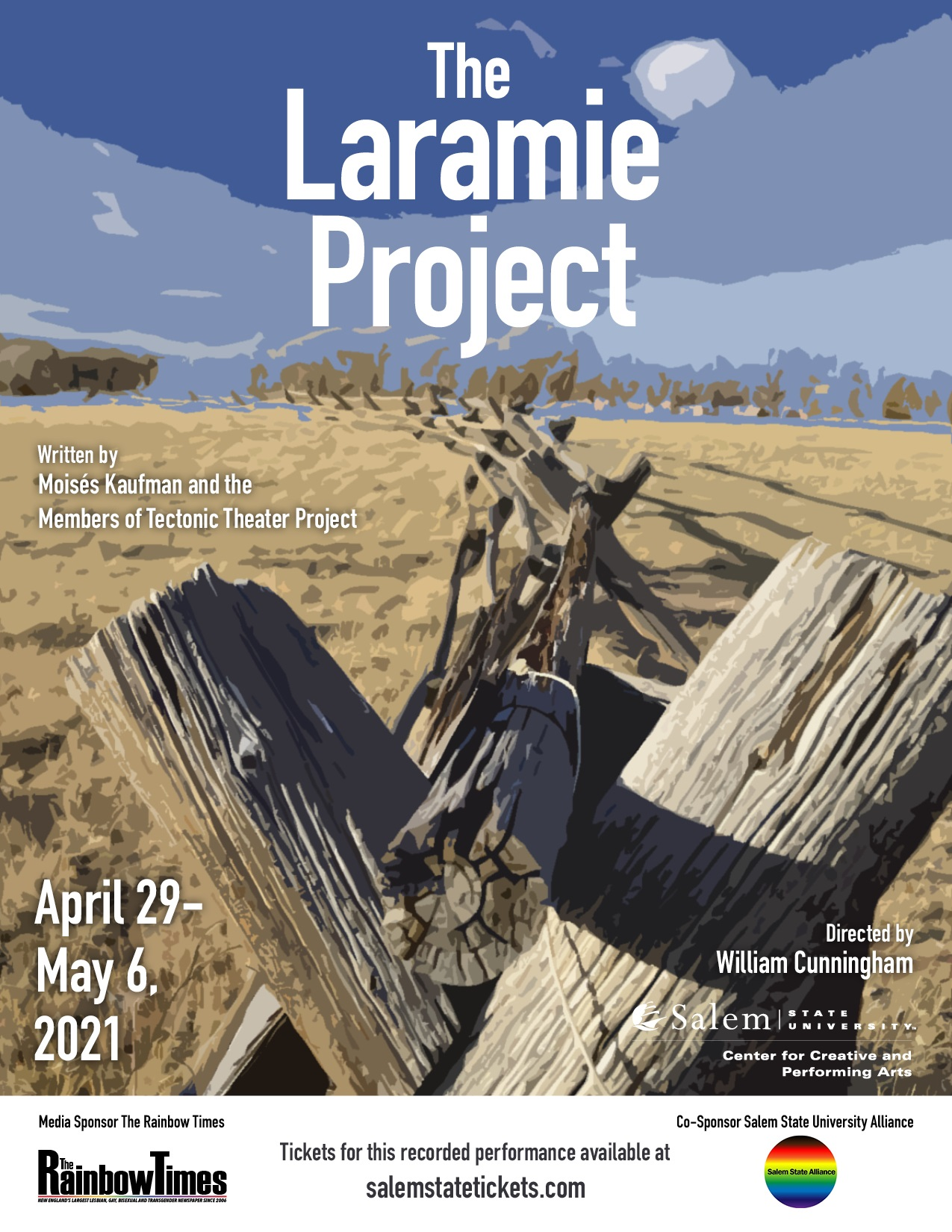 The Laramie Project streams April 29 - May 6