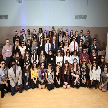 2017-18 Scholarship awardees in shades