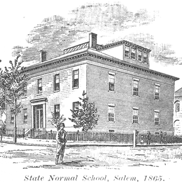 "DIFF Broad Street image depicts ""State Normal School"""