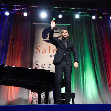 John Legend at the Salem State Series