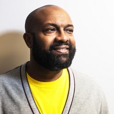 Jabari Asim reads at Salem State on April 11