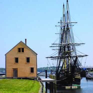 Salem FRIENDSHIP at dock