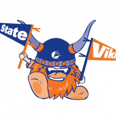 SSU Super Fan Viking Mascot