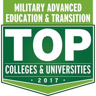 Top colleges, military advanced education logo