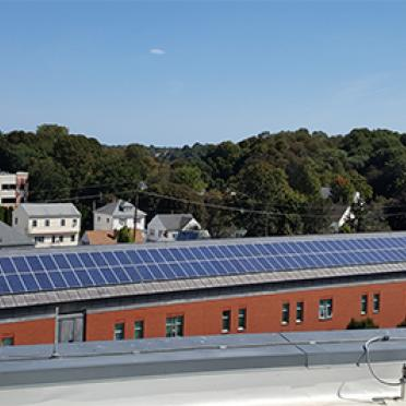 Atlantic Hall Solar Panels