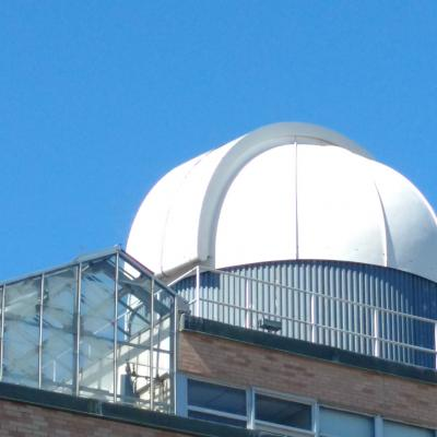 Outside view of Collins Observatory