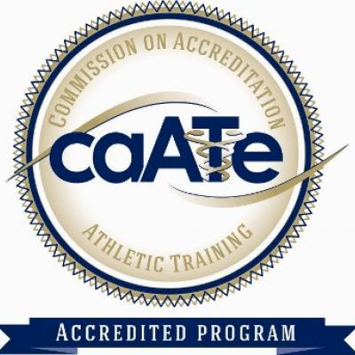Commission on Accreditation Athletic Training Accredited Program Seal