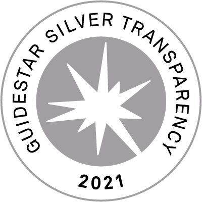 2021 GuideStar Silver Seal of Transparency
