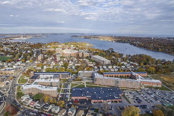 Aerial Image of Salem State