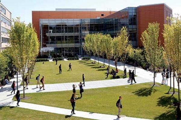 An image of the North Campus Commons.