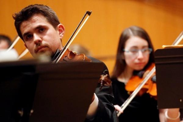 The University Chamber Orchestra performs April 25