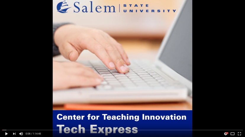 Center for Teaching Innovation slide